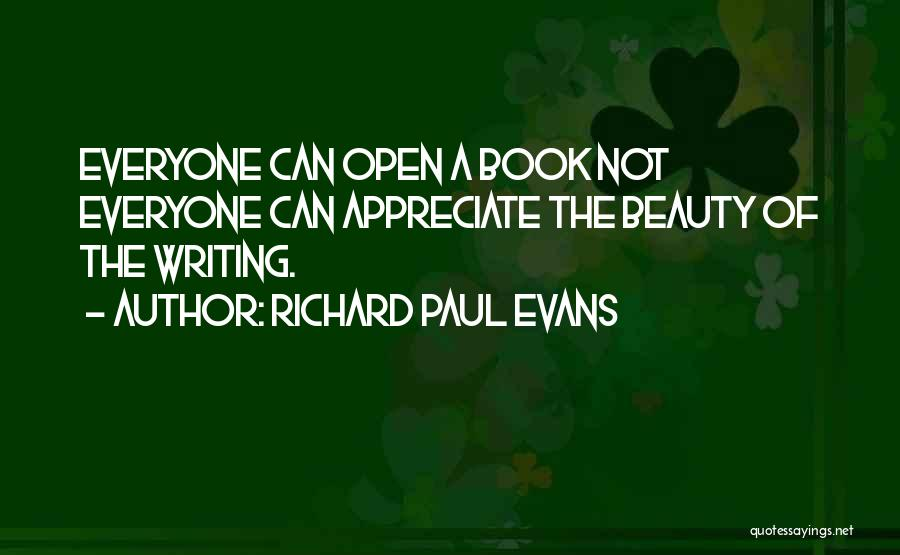 Life Open Book Quotes By Richard Paul Evans