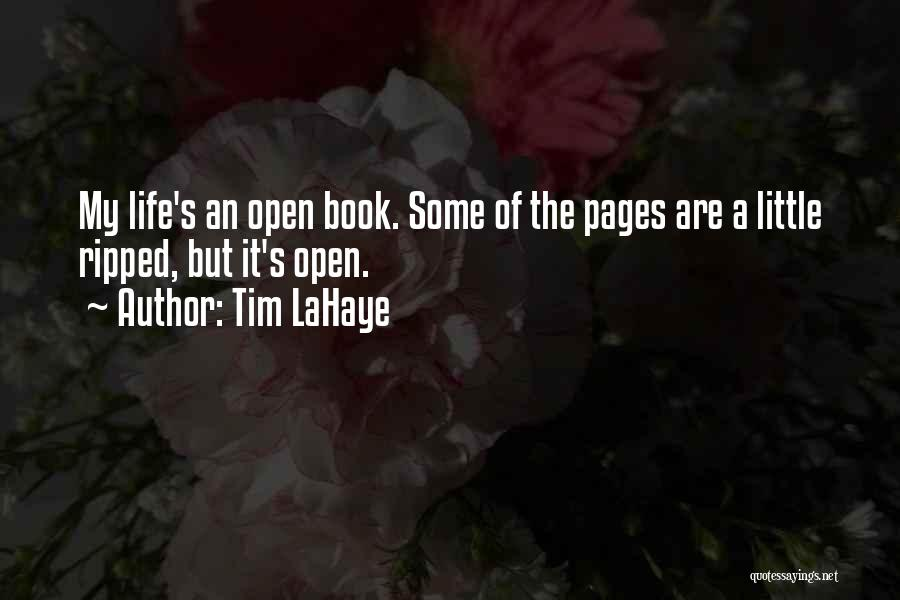 Life Open Book Quotes By Tim LaHaye