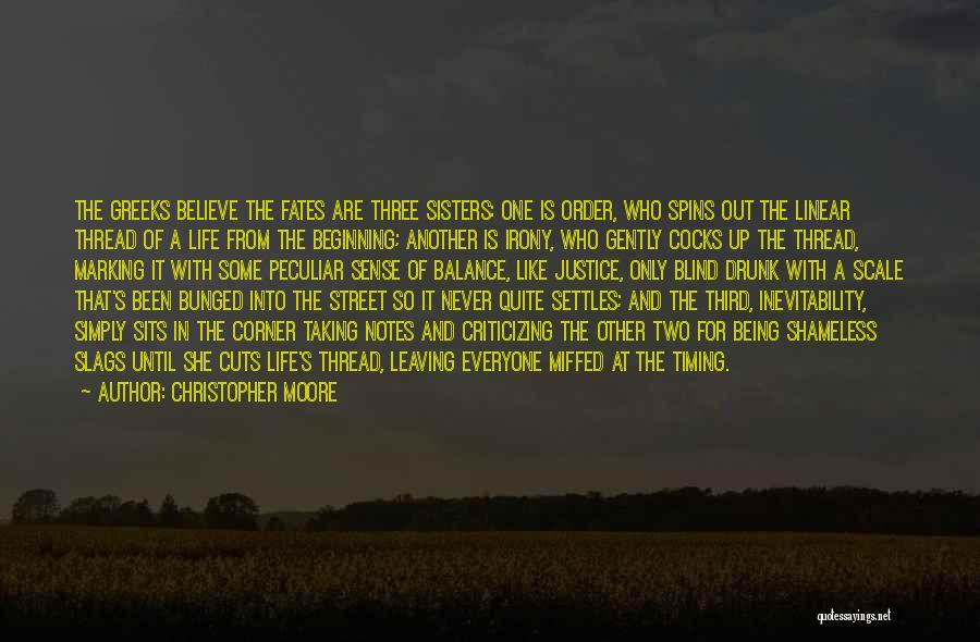 Life Out Of Balance Quotes By Christopher Moore