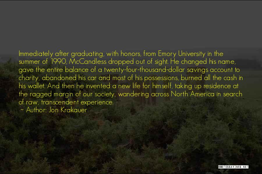 Life Out Of Balance Quotes By Jon Krakauer