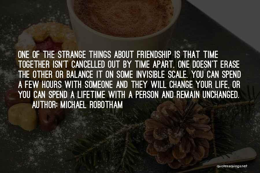 Life Out Of Balance Quotes By Michael Robotham