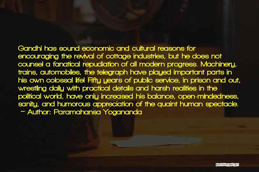 Life Out Of Balance Quotes By Paramahansa Yogananda