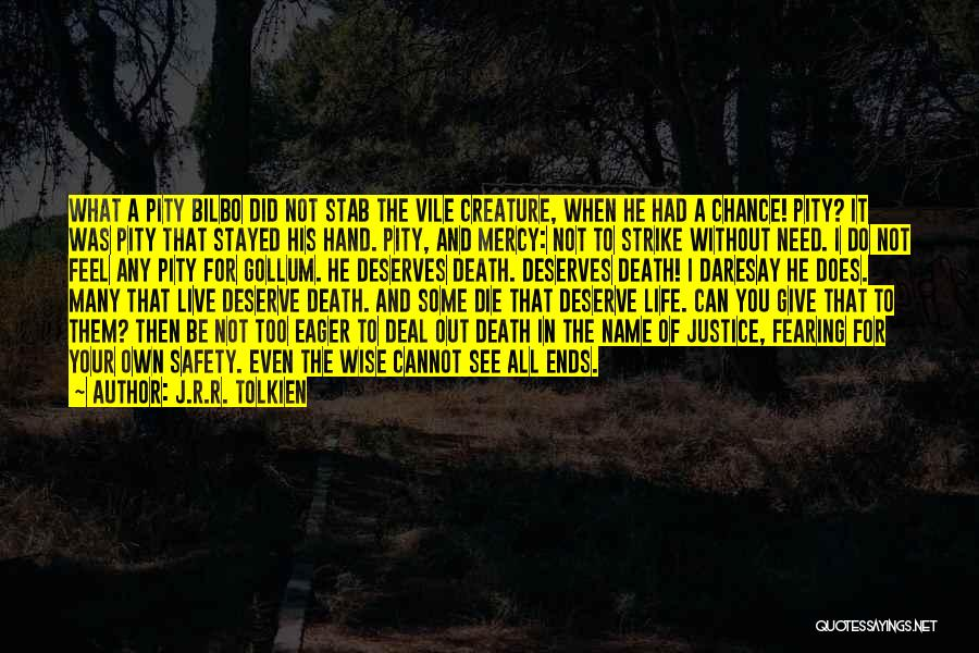 Life Out Of Death Quotes By J.R.R. Tolkien