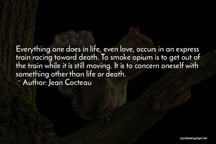 Life Out Of Death Quotes By Jean Cocteau