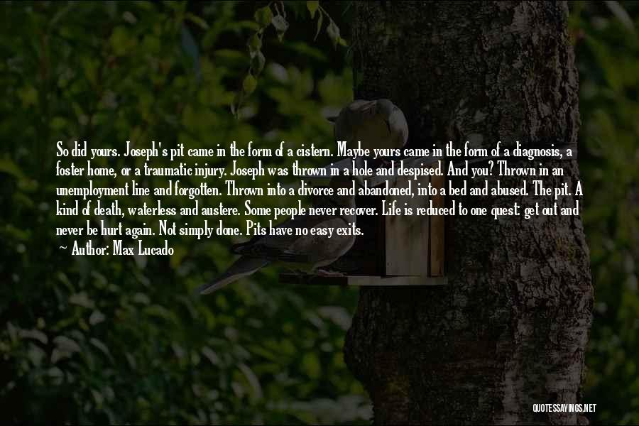 Life Out Of Death Quotes By Max Lucado