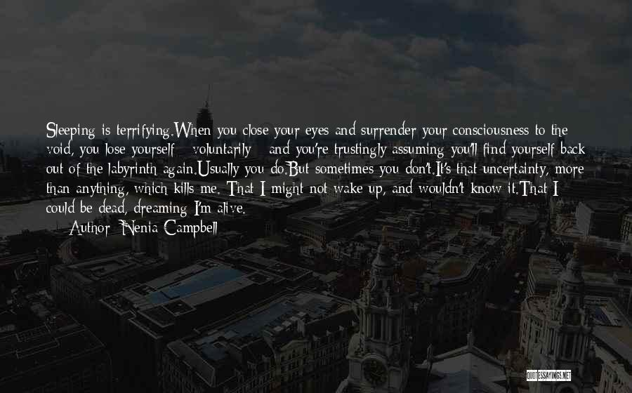 Life Out Of Death Quotes By Nenia Campbell