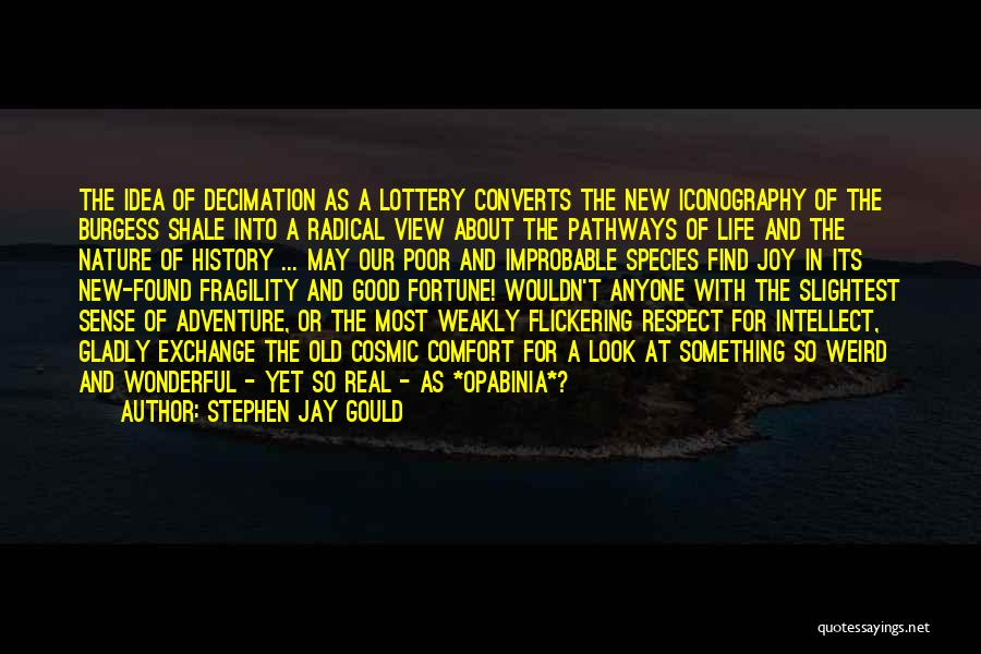 Life Pathways Quotes By Stephen Jay Gould