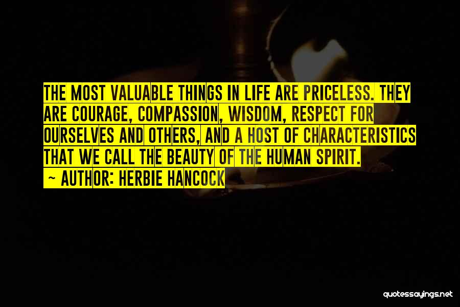 Life Priceless Quotes By Herbie Hancock