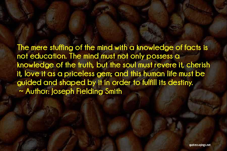 Life Priceless Quotes By Joseph Fielding Smith