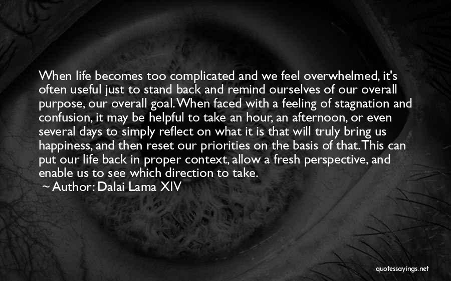 Life Reset Quotes By Dalai Lama XIV
