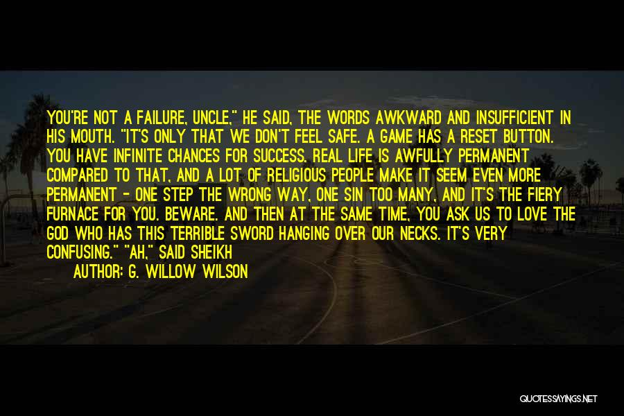 Life Reset Quotes By G. Willow Wilson