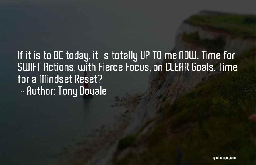 Life Reset Quotes By Tony Dovale
