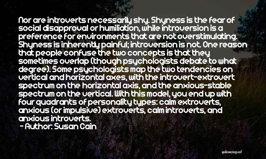 Life Shyness Quotes By Susan Cain
