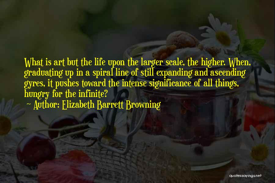 Life Significance Quotes By Elizabeth Barrett Browning
