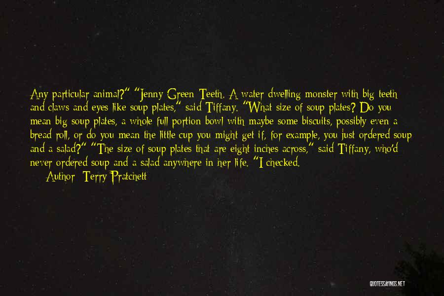 Life Size Quotes By Terry Pratchett