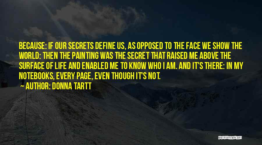 Life The Secret Quotes By Donna Tartt