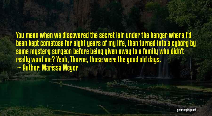 Life The Secret Quotes By Marissa Meyer