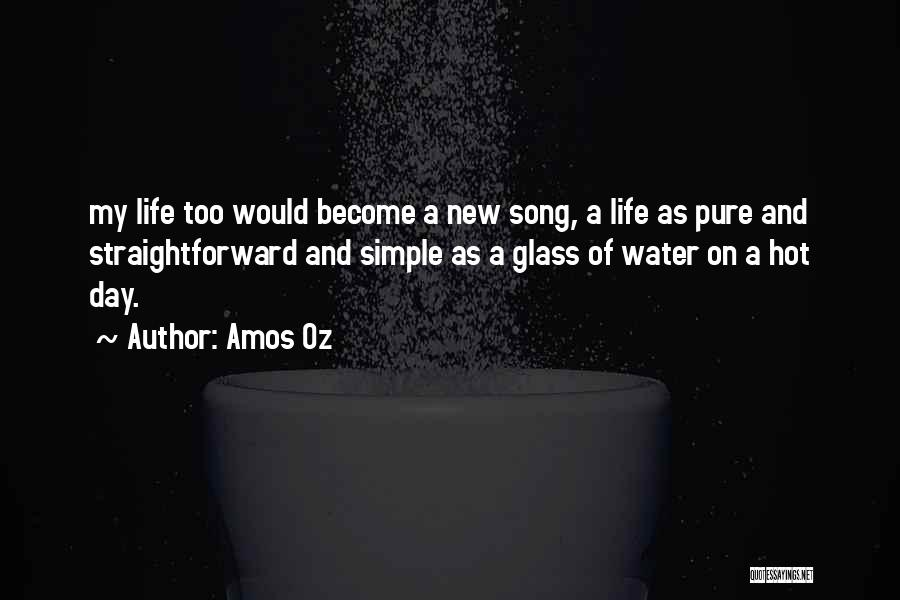 Life Water Quotes By Amos Oz