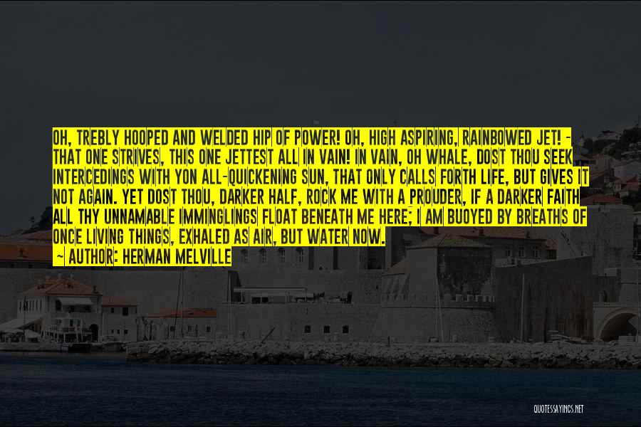Life Water Quotes By Herman Melville