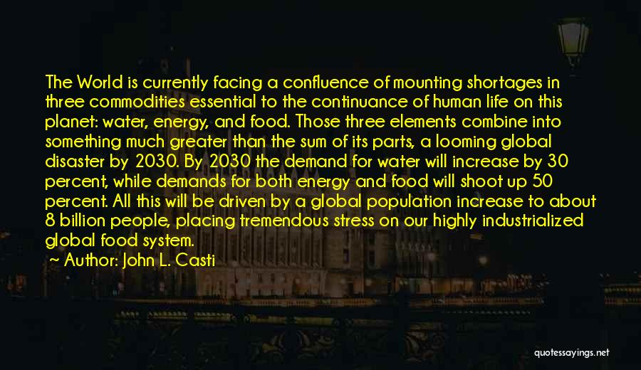 Life Water Quotes By John L. Casti