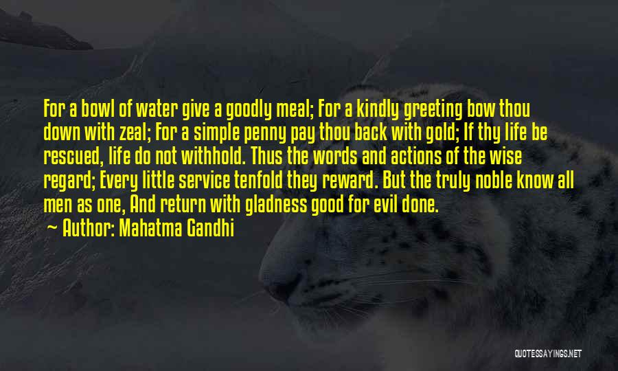 Life Water Quotes By Mahatma Gandhi