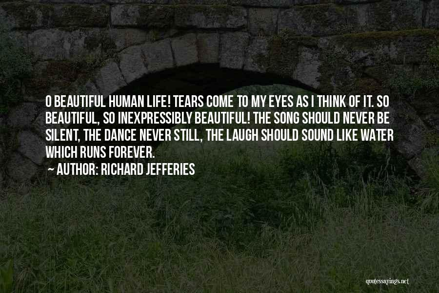 Life Water Quotes By Richard Jefferies