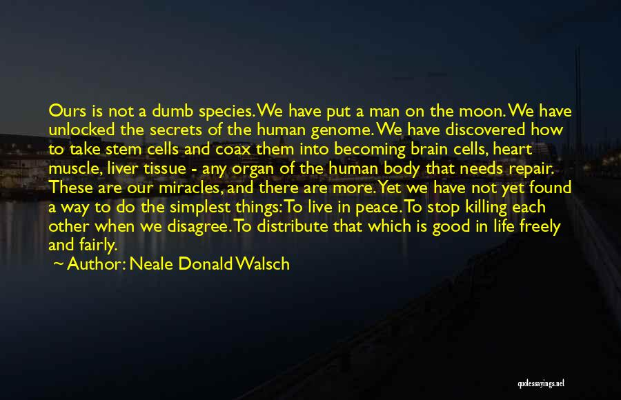 Life When Things Are Not Good Quotes By Neale Donald Walsch