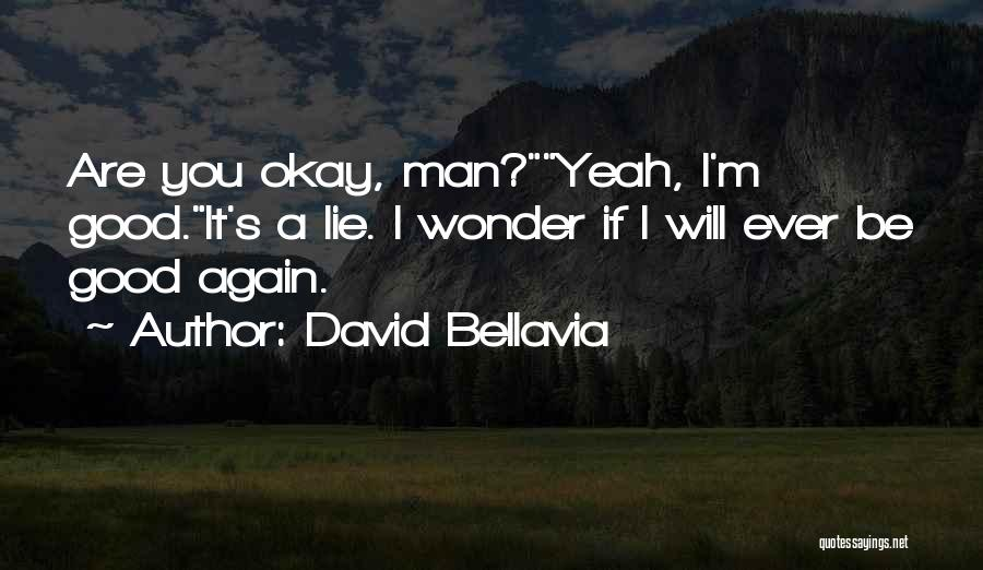 Life Will Be Okay Quotes By David Bellavia