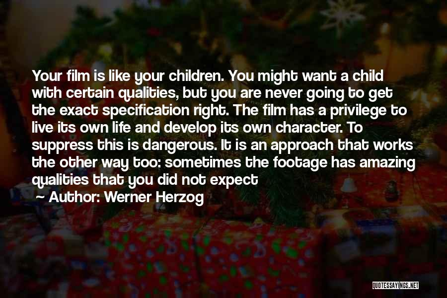 Life With You Is Amazing Quotes By Werner Herzog
