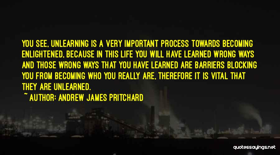Life Without Barriers Quotes By Andrew James Pritchard