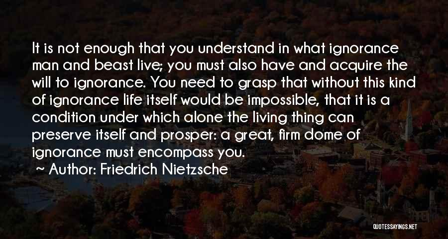 Life Without You Is Impossible Quotes By Friedrich Nietzsche