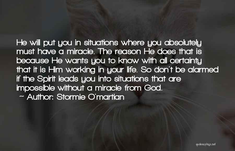 Life Without You Is Impossible Quotes By Stormie O'martian