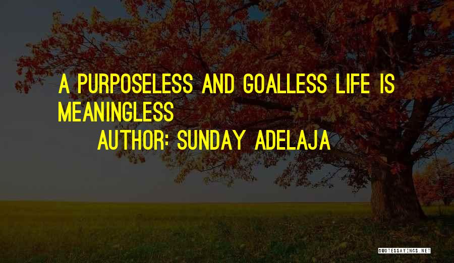 Life Without You Is Meaningless Quotes By Sunday Adelaja