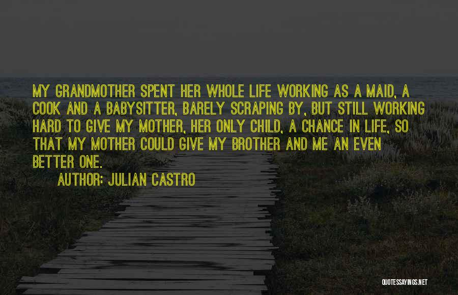 Life Working Hard Quotes By Julian Castro
