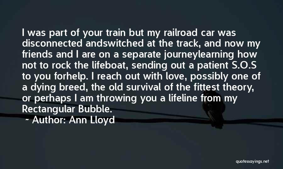 Lifeline Love Quotes By Ann Lloyd