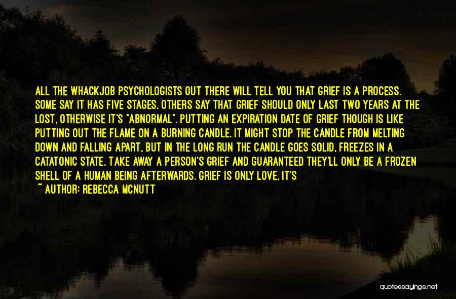 Lifeline Love Quotes By Rebecca McNutt