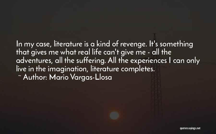 Life's Adventures Quotes By Mario Vargas-Llosa
