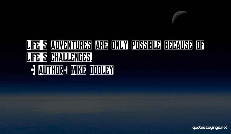Life's Adventures Quotes By Mike Dooley