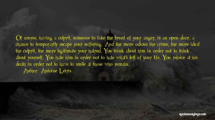 Life's An Open Door Quotes By Antoine Leiris