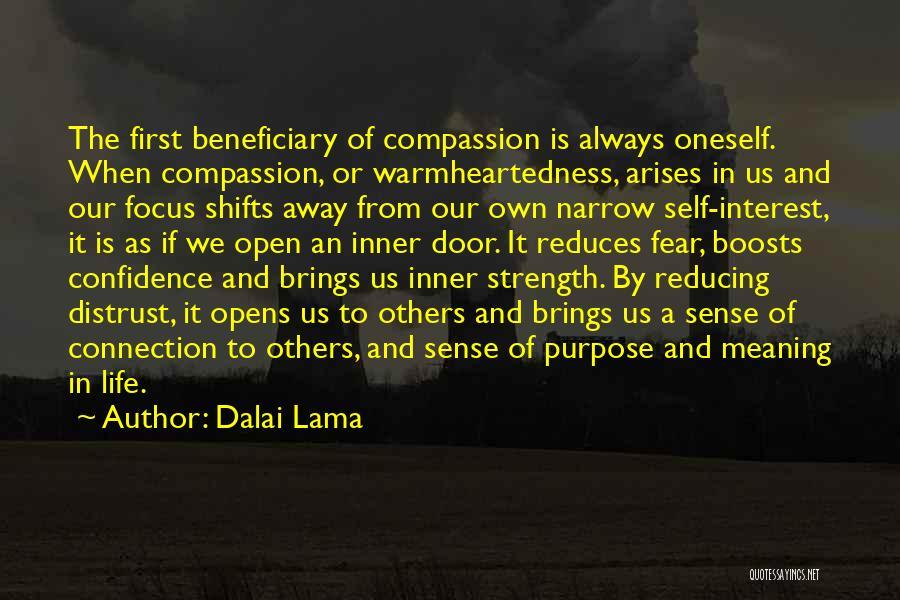 Life's An Open Door Quotes By Dalai Lama