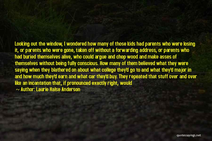 Life's An Open Door Quotes By Laurie Halse Anderson