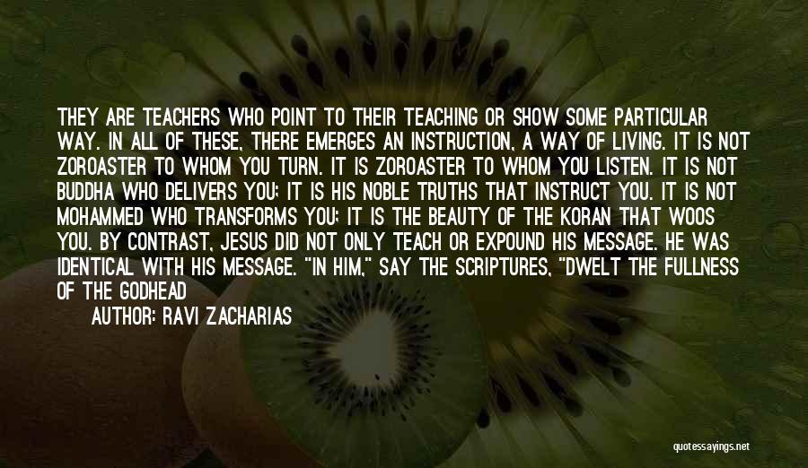 Life's An Open Door Quotes By Ravi Zacharias