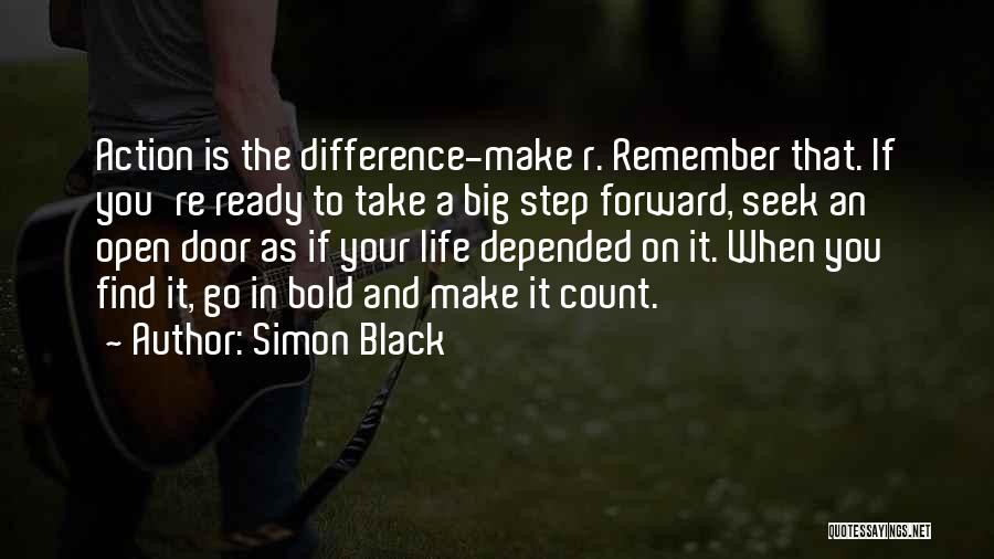 Life's An Open Door Quotes By Simon Black