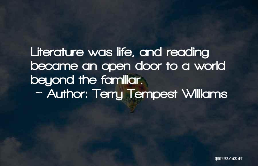 Life's An Open Door Quotes By Terry Tempest Williams