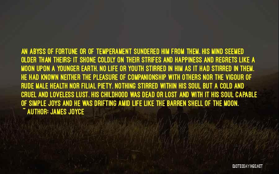 Life's Simple Pleasure Quotes By James Joyce