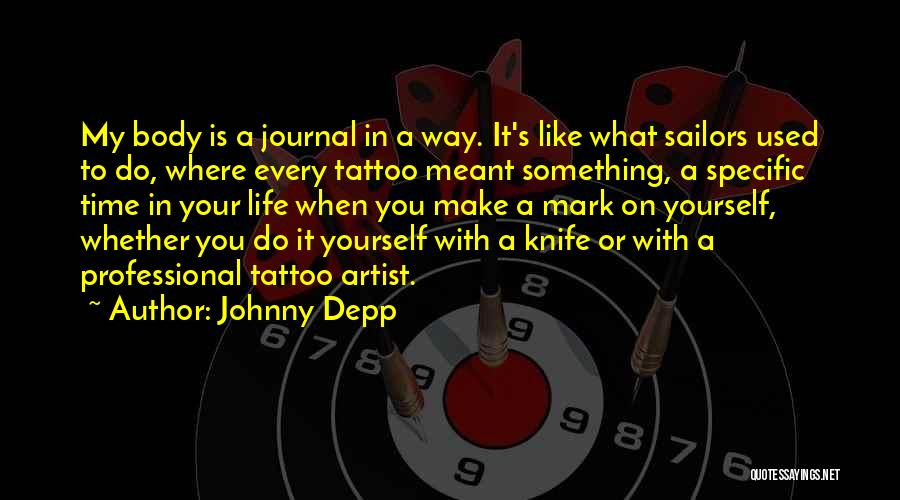 Life's What You Make It Quotes By Johnny Depp