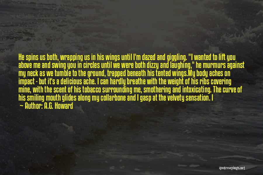 Lift Your Head Up Quotes By A.G. Howard