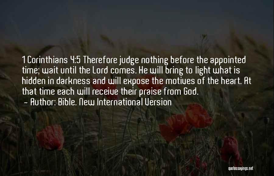 Light And Darkness Quotes By Bible. New International Version