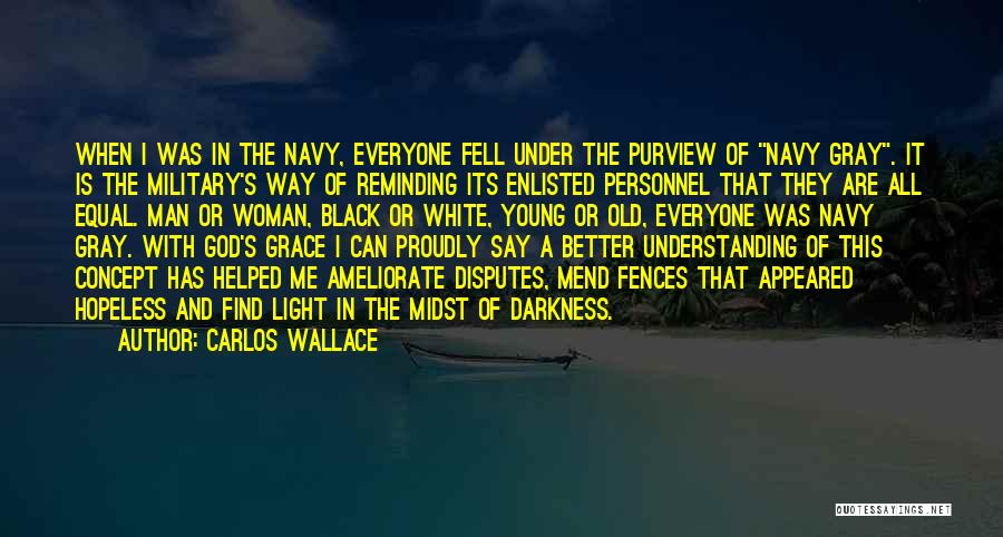 Light And Darkness Quotes By Carlos Wallace
