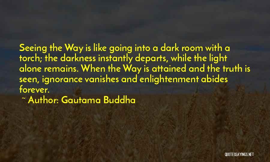 Light And Darkness Quotes By Gautama Buddha